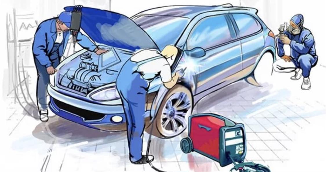 Картинки для автосервиса кузовной ремонт