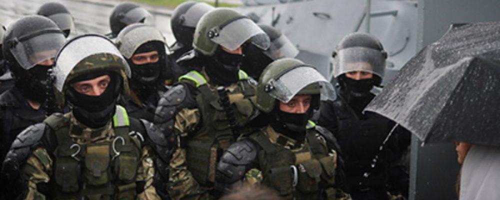 МВДБелоруссии отчиталось озадержаниях наакциях протеста