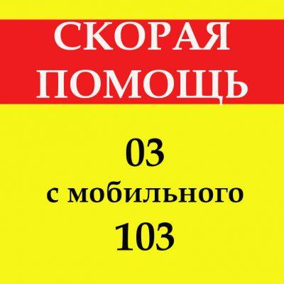 Скорая помощь (03 / 103)