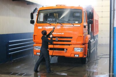 Автомойка грузового транспорта