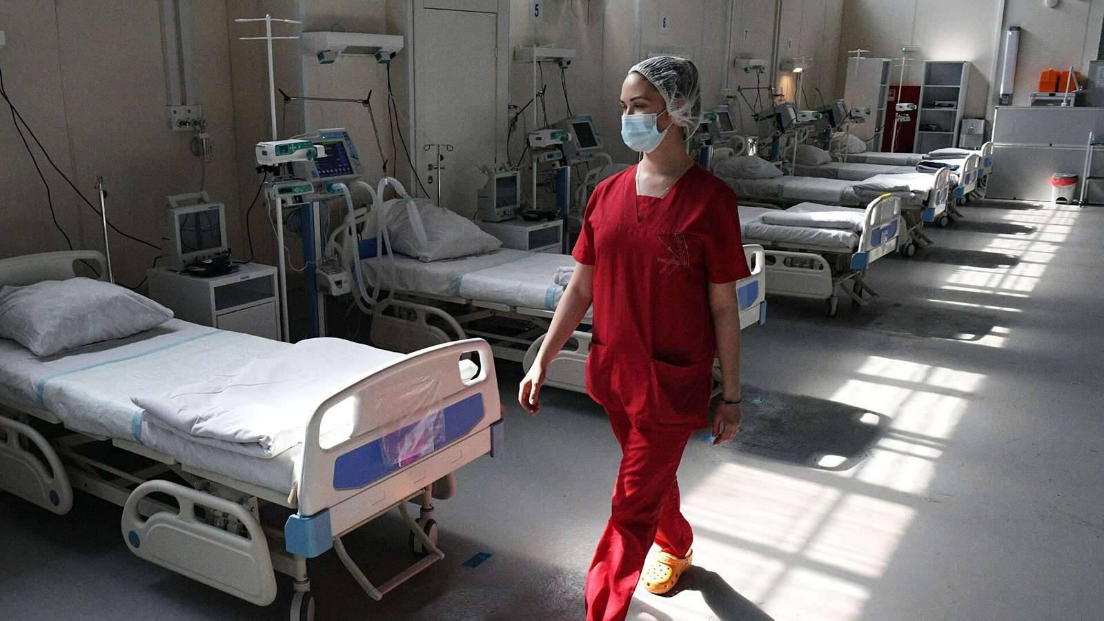 Еще 950 коек для пациентов с ковидом и пневмонией развернут в Подмосковье к концу сентября