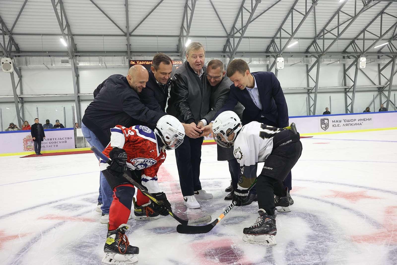 Новую ледовую арену открыли в Балашихе в День города | Изображение 2